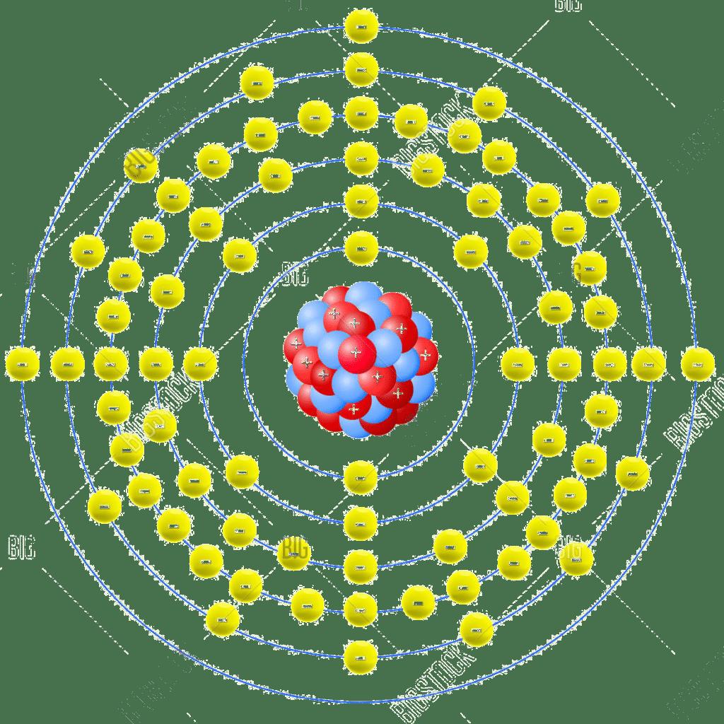 Osmium strebt eine Elektronenkonfiguration zu Xenon an