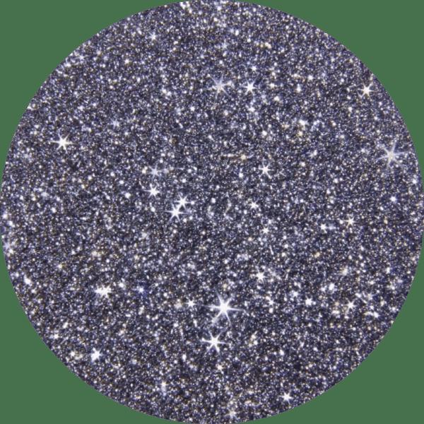Eine Osmium-Disk funkelt bei bewegtem Licht