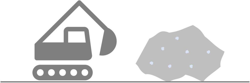 Der Platinabbau ist ausschlaggebend für die Osmiumgewinnung
