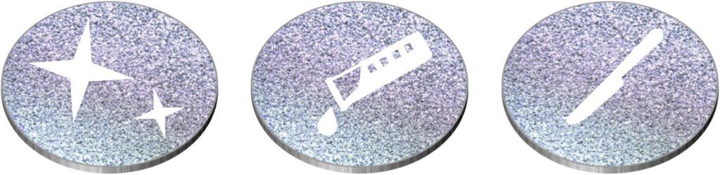 Das Edelmetall Osmium besitzt Eigenschaften, wie Widerstandsfähigkeit gegenüber Säuren, Kratzfestigkeit und ein strahlendes, langanhaltendes Funkeln