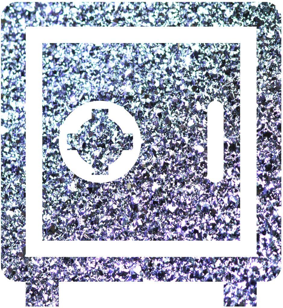 Osmium sollte sicher im Tresor aufbewahrt und gelagert werden