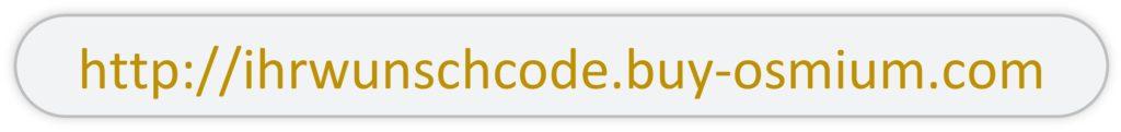 Auf dem Bild ist der eigene Code in dem offiziellen Shop-Link eingebettet