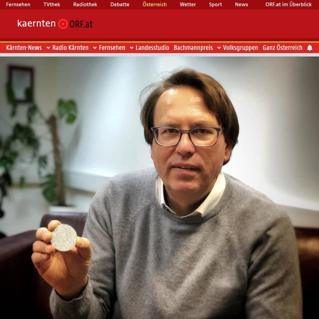 Der Vermögensberater aus Österreich berichtet dem ORF über das neue Investitionsmetall Osmium.