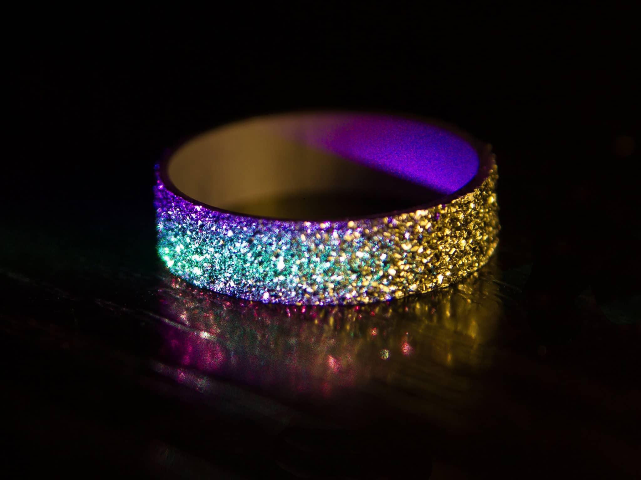 Osmium Rundbarren bilden die Grundlage für einen späteren Ring