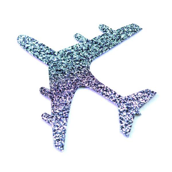 Produktbild eines Osmium-Symbols in Form eines Flugzeuges