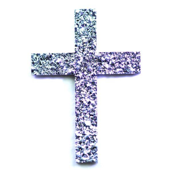 Produktbild eines Osmium-Symbols in Form eines Kreuzes