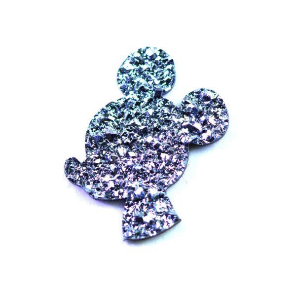 Mickeymaus aus Osmium geschnitten zählt zu den beliebten Symbolen