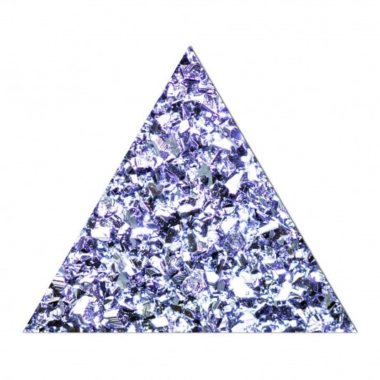 Produktbild eines Osmium Dreieckes
