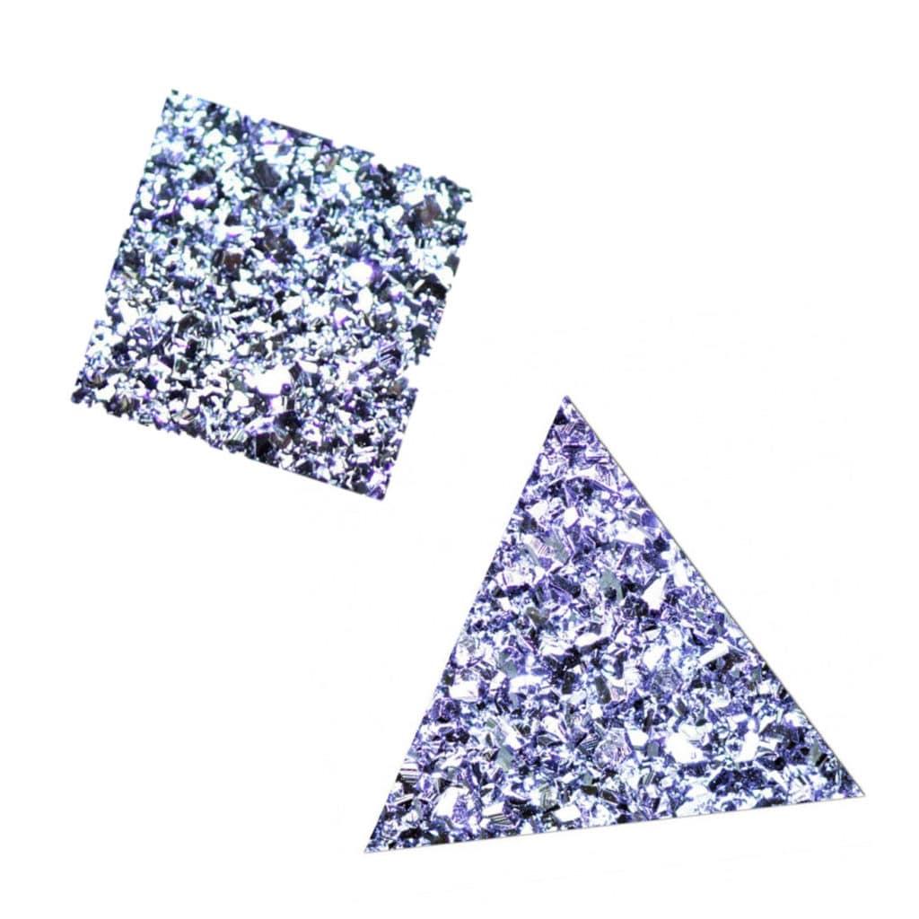 Produktbilder eines Osmium Viereckes und - Dreieckes