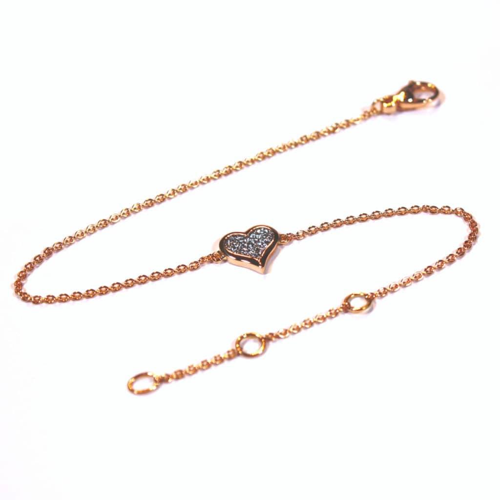 Osmium Schmuck Noblesse Armband Amour Gold Produkt