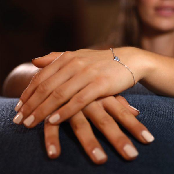 Osmium Schmuck Noblesse Armband Amour Platin Model A