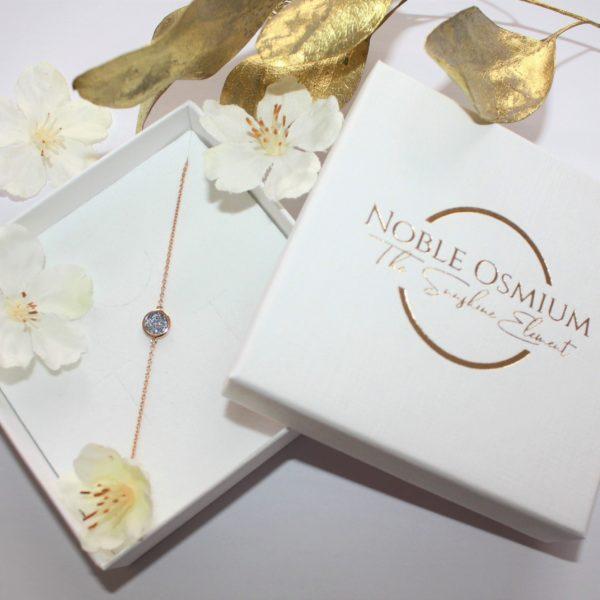 Osmium Schmuck Noblesse Armband Ronde Gold Schachtel