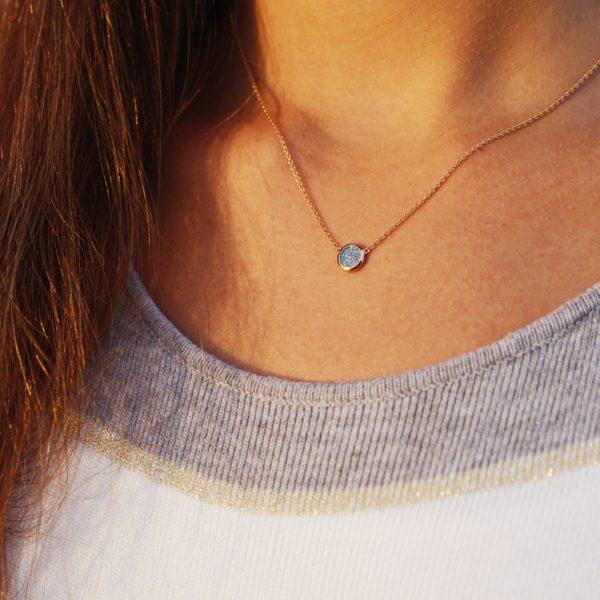 Osmium Schmuck Noblesse Halskette Ronde Gold Model A