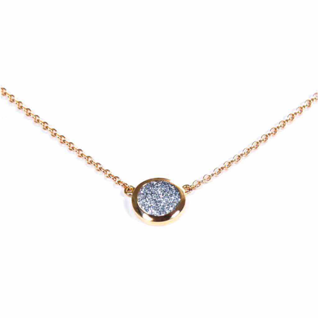 Osmium Schmuck Noblesse Halskette Ronde Gold Produkt