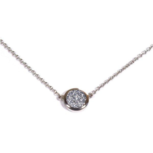 Osmium Schmuck Noblesse Halskette Ronde Platin Produkt