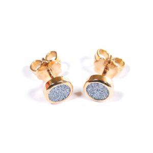 Osmium Schmuck Noblesse Ohrringe Lune Gold Produkt