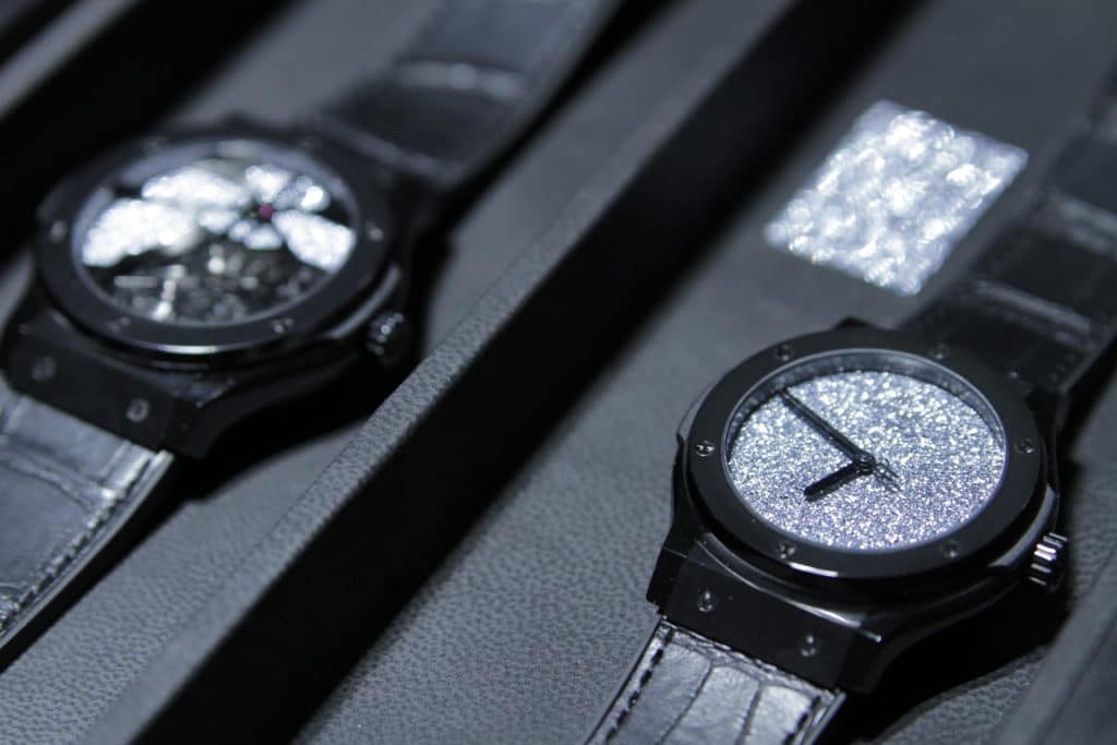 Schmuck und Uhren sind prädestiniert für kunstvolle Schmuckstücke mit Osmium.