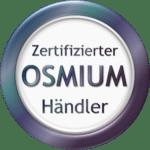 Osmium Deutschland besitzt ein Zertifikat als qualifizierter Osmium-Händler.