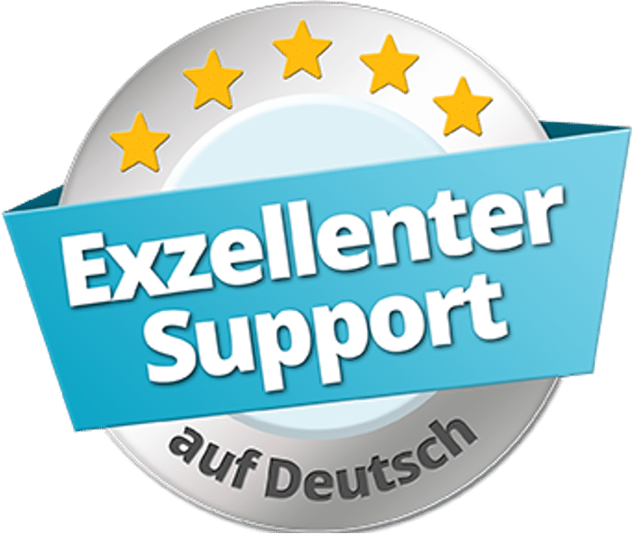 Osmium Deutschland besitzt ein Zertifikat für einen exzellenten Support.